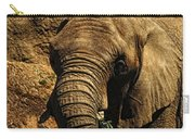 Disappearing Elephant Carry-all Pouch