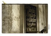 Disappearing Railroad Blues Carry-all Pouch