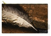 Discarded Feather Carry-all Pouch