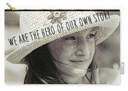 Discover Yourself Quote Carry-all Pouch