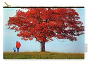 Discovering Autumn - Reflection Carry-all Pouch