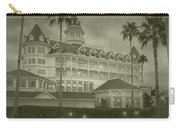 Disney World The Grand Floridian Resort Vintage Carry-all Pouch