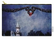 Disneyland Castle At Christmas Time Carry-all Pouch