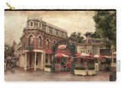 Disneyland Corner Cafe Pa Textured Carry-all Pouch