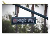 Disneyland Magic Way Street Signage Carry-all Pouch