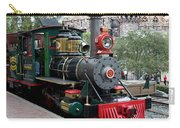 Disneyland Railroad Engine 3 With Castle Carry-all Pouch
