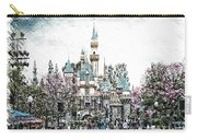 Disneyland Sleeping Beauty Castle Pa Carry-all Pouch