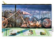 Display Lady Liberty Copper Bike Ny Carry-all Pouch