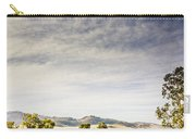 Distant Car Wrecks On Outback Australian Land  Carry-all Pouch