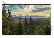 Distant Mountains To The East Carry-all Pouch