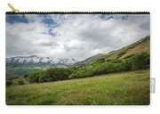 Distant Snow-capped Mountains Carry-all Pouch