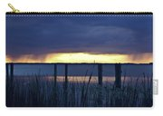 Distant Storms At Sunset Carry-all Pouch