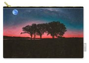 Distant Trees Under Milkyway Horizon By Adam Asar 3 Carry-all Pouch