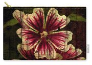 Distinctive Blossoms Carry-all Pouch