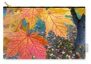 Distinctive Maple Leaves Carry-all Pouch