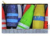 Distressed Buoy Carry-all Pouch