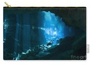 Diver Enters The Cavern System N Carry-all Pouch