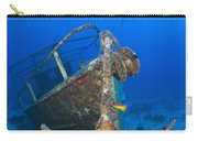 Divers Visit The Pelicano Shipwreck Carry-all Pouch