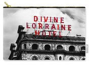 Divine Lorraine Hotel Marquee Carry-all Pouch