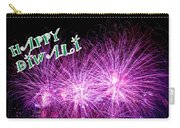 Diwali Greetings Card Carry-all Pouch