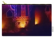 Diwali Lamps And Murals Blue City India Rajasthan Wide 2d Carry-all Pouch