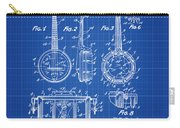 Dixie Banjolele Patent 1954 In Blue Print Carry-all Pouch