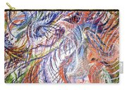 Dizzy Feathers Carry-all Pouch