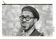 Dizzy Gillespie Vintage Jazz Musician Carry-all Pouch