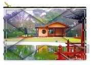 Djg-0004 Pavilion View Of Teahouse Carry-all Pouch