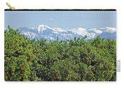Dm6850-e Orange Grove And The Sierra Nevada Ca Carry-all Pouch
