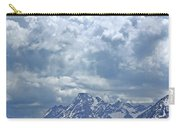 Dm9233 Clouds Over Mt. Moran V Carry-all Pouch