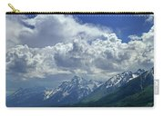 Dm9234 Clouds Over Mt. Moran H Carry-all Pouch