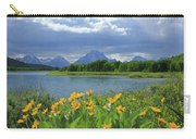Dm9235 Mt. Moran From Oxbow Bend Carry-all Pouch