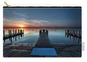 Dnr West Boat Launch Sunrise Carry-all Pouch