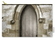 Do-00055 Chapels Door In Morpeth Village Carry-all Pouch
