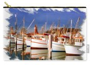 Do-00096 Boats In Nelson Bay Early 90s Carry-all Pouch