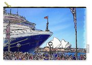 Do-00100 A Ship And Opera House Carry-all Pouch