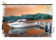 Do-00108 Boat At Sunset Carry-all Pouch