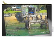 Do-00128 Boatshed At Brisbane Water Carry-all Pouch