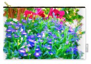 Do-00221 Flowers Carry-all Pouch