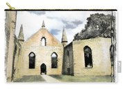 Do-00244 Abandoned Church Carry-all Pouch