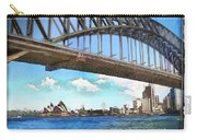 Do-00284 Sydney Harbour Bridge And Opera House Carry-all Pouch