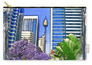 Do-00285 Sydney Centre Tower In Spring Carry-all Pouch