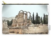 Do-00306 Old Ruins In Anjar Carry-all Pouch