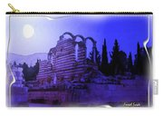 Do-00307 Moon On Anjar Ruins Carry-all Pouch