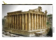 Do-00311 The Temple Of Bacchus Baalbeck Carry-all Pouch