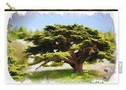 Do-00319 Cedar Tree Carry-all Pouch