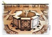 Do-00323 Old Bath Fountain Carry-all Pouch