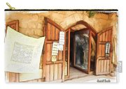 Do-00345 Display Door In The Souk Of Byblos Carry-all Pouch