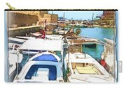 Do-00347 Boats In Byblos Port Carry-all Pouch